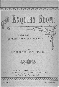 the enquiry room cover